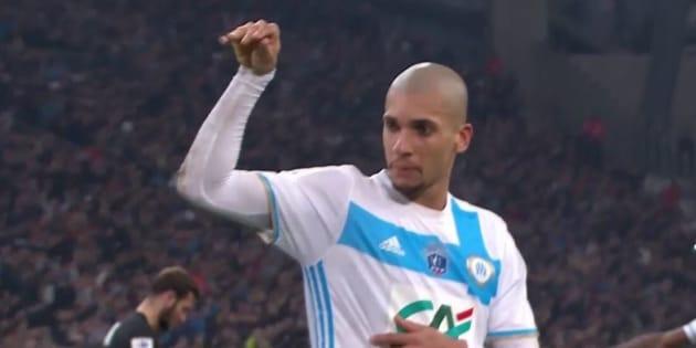 Pendant le match contre Lyon, ce joueur marseillais s'est inspiré d'une star du web pour célébrer son but