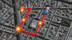 Le parcours sanglant de Khamzat Azimov dans Paris pendant son attaque au