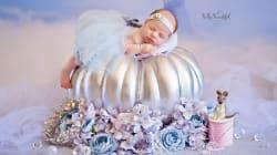 Bebés como princesas de