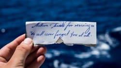 El emotivo mensaje de un refugiado rescatado en el mar que se convierte en