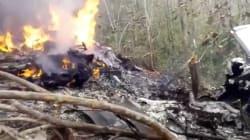 Un avión se estrella e incendia en Costa Rica; 12 personas