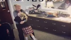 Try Not To Cry As You Watch This 11-Year-Old Find Out She's Getting