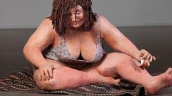 Como uma artista encontra beleza em esculturas 'plus size' e em si