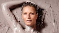 Gwyneth Paltrow Is Half-Naked And Literally Covered In 'Goop' On Her New Mag