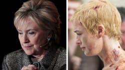 Hillary Clinton dice que los simpatizantes de Trump la trataron como Cersei, de 'Game of