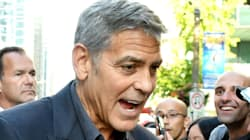 Reddit Can't Get Enough Of A Fan Caressing George Clooney's