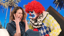Ellen Doesn't Clown Around When Pranking Sarah