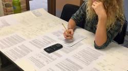 Ce prof a autorisé ses élèves à apporter une fiche de révision pour un examen, il a oublié un petit