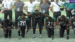 NFL Players Protest Trump And Racism In Games Across The