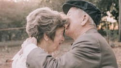Couple Finally Have Wedding Photos Taken 60 Years After Getting