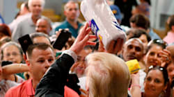Donald Trump Helps Suffering Puerto Ricans By Throwing Paper Towels At