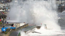 WATCH: Storm Ophelia Death Count Rises To Three As Ireland Is