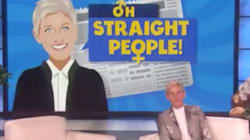 Ellen's New Segment Calls Out Straight People For Crazy