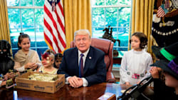 Donald Trump Met Reporters' Kids, And It Was More Trick Than
