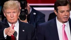 Trump respondió a las acusaciones de su jefe de campaña y sí, intentó desviar la