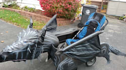 Dad Turns Son's Wheelchair Into 'Game Of Thrones' Dragon For