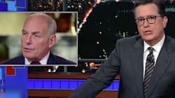 Stephen Colbert Ridicules John Kelly's Take On The Civil