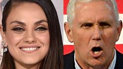 Mila Kunis Expertly Trolls Mike Pence Every Single