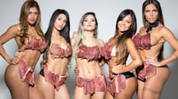 Brazilian Pageant Contestants Wear 'Beef-kinis' To Protest Sexual