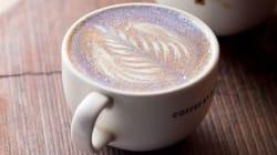 La gente está poniéndole glitter al café porque...