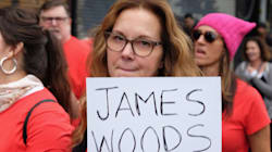 Elizabeth Perkins Names James Woods During March Against Sexual