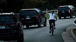 More Than $130,000 Raised For Cyclist Fired For Flipping Off