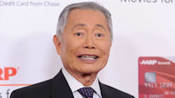 George Takei Says He Was Playing 'Naughty' Grandpa In