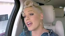Pink Tells James Corden A Naughty Jon Bon Jovi Story In 'Carpool