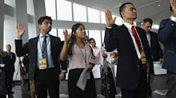 Immigrants Anxiously Await Citizenship As Processing Times Nearly