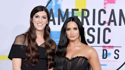Demi Lovato Walks AMAs Red Carpet With Trans Lawmaker Danica