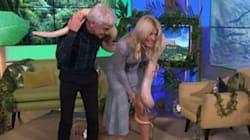 Holly Willoughby Left Squealing After Huge Python Gets Too Close For Comfort On 'This