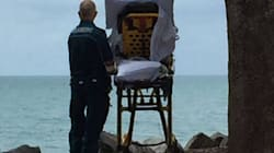 Big-Hearted Paramedics Wheel Dying Patient To The Beach For A Last Look At The