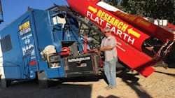 WATCH: Man Plans To Launch Himself In Homemade Rocket To Prove The Earth Is