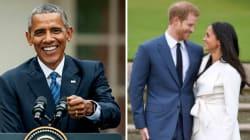 Barack Obama Congratulates Prince Harry And Meghan Markle On