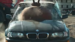 Watch A Wrecking Ball Destroy A Bunch Of Cars And Get On With Your