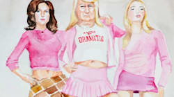 Artist Paints Donald Trump As Your Favorite Film And TV Show