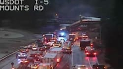At Least Six Dead After US Passenger Train Derails On Bridge And Falls On
