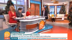 'Good Morning Britain' Disrupted As Random Dog Strolls Through The