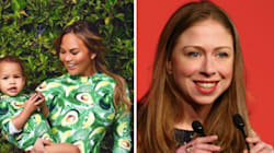 Chelsea Clinton Gives Chrissy Teigen Powerful Mom Advice About Online