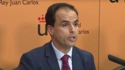 El rector de la URJC creó con seis socios la empresa que usa gratis el hangar de la