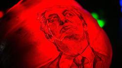Calabazas de Donald Trump para decorar esta escalofriante época del