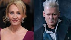 J.K. Rowling Finally Breaks Silence Over 'Fantastic Beasts' Johnny Depp Casting