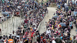 More Than Half A Million Rohingyas Fled Myanmar In A Single
