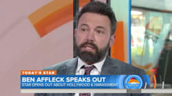 Ben Affleck Dodges Question About Rose McGowan's Claim That Weinstein Raped