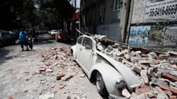 Harrowing Videos Show The Moment An Earthquake Struck