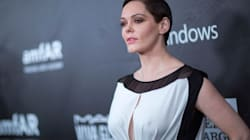 Rose McGowan's 'Twitter Suspended' Amid Harvey Weinstein