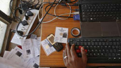 Fake Aadhaar Centres Operated With Rubber-Stamp Thumbprints Busted In Manesar And