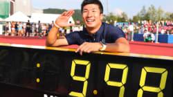 桐生祥秀、日本初の9秒台に「世界のスタートラインです」