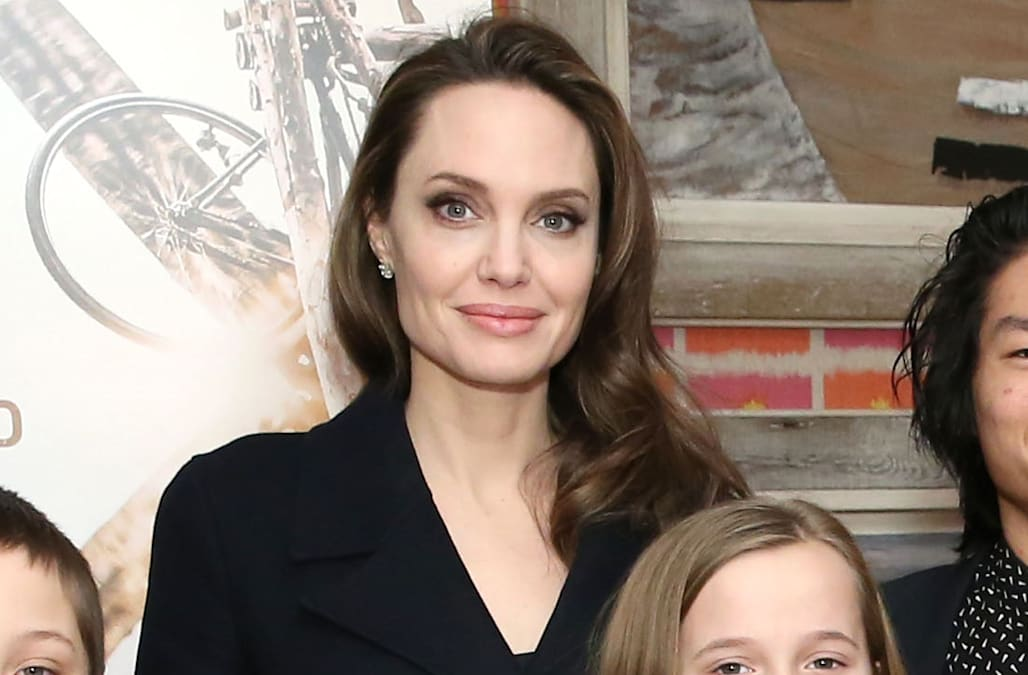 Angelina Jolie News: Angelina Jolie's Kids Look All Grown Up At NYC Movie