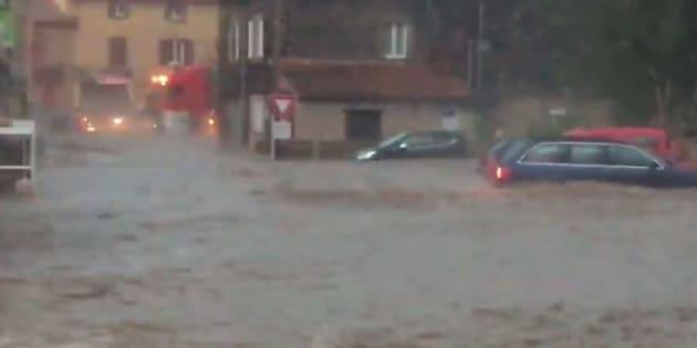 De violents orages en Haute-Loire font un disparu et de nombreux dégâts.